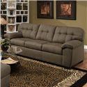 United Furniture Industries 9558 Transitional Sofa - Item Number: 9558 Sofa Shitake