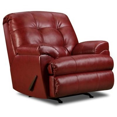 United Furniture Industries 9568 Rocker Recliner - Item Number: 9568Recliner-Cardinal