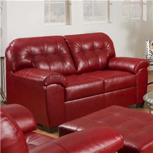 United Furniture Industries 9569 Loveseat
