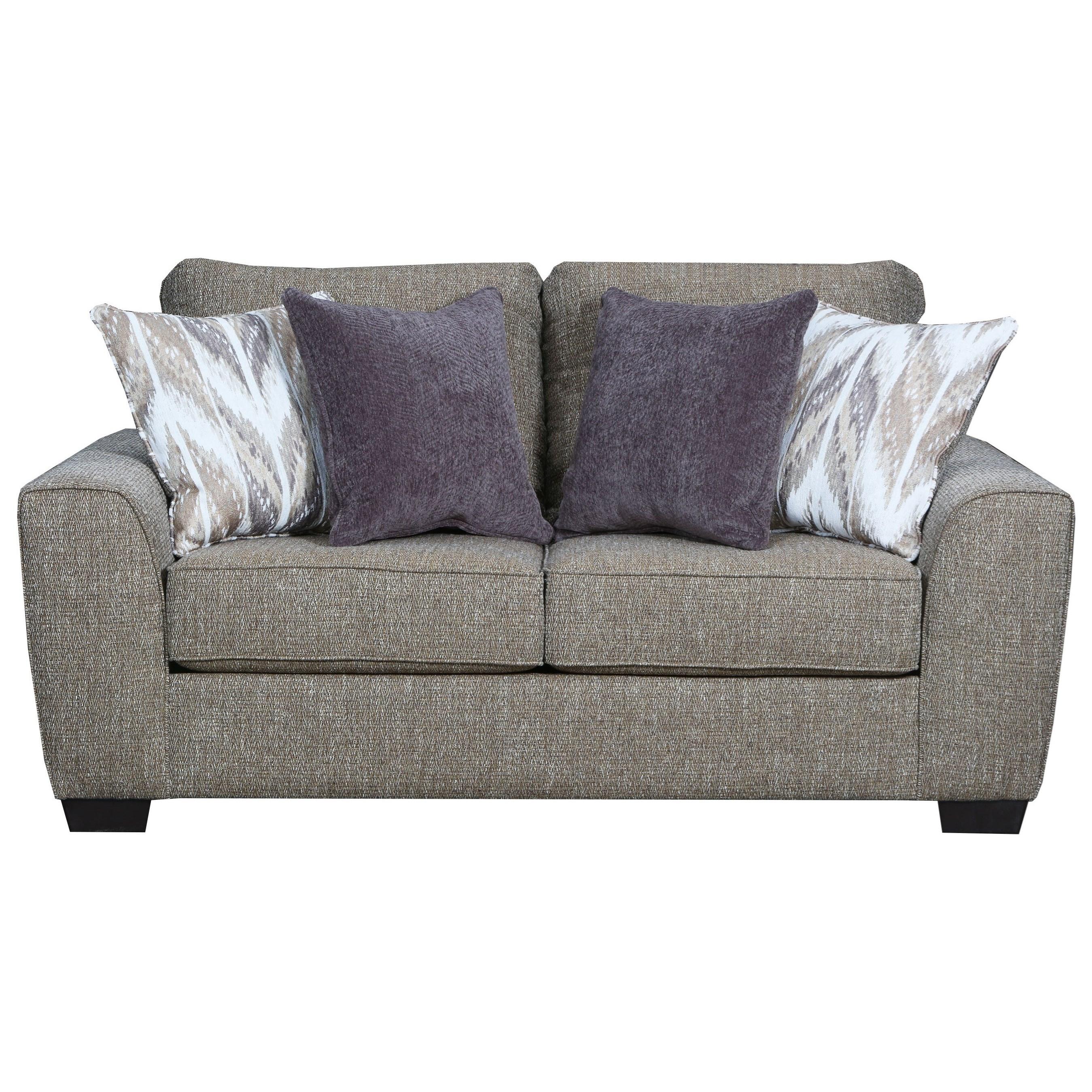 United Furniture Industries 9770BR Love Seat - Item Number: 9770BRLoveseat-Paradise Sisal