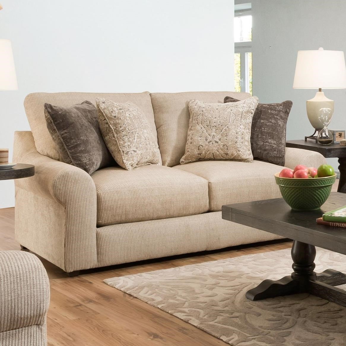 9906 Love Seat by United Furniture Industries at Dream Home Interiors