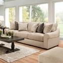 United Furniture Industries 9906 Sofa - Item Number: 9906BRSofa-Weston Putty