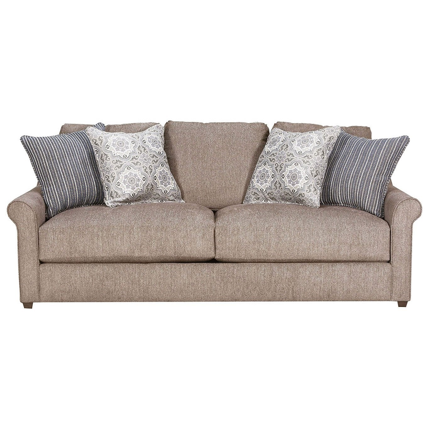 9910 Sofa by United Furniture Industries at Dream Home Interiors