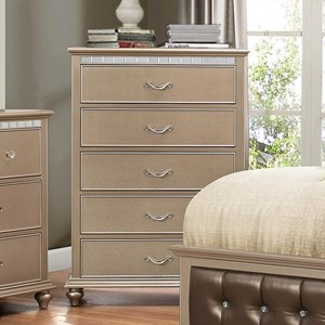 United Furniture Industries Hollywood 1008 Chest of Drawers