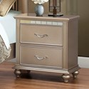 United Furniture Industries Hollywood 1008 Night Stand - Item Number: 1008-80