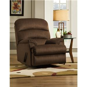 Simmons Upholstery U272 Casual Waterfall Recliner