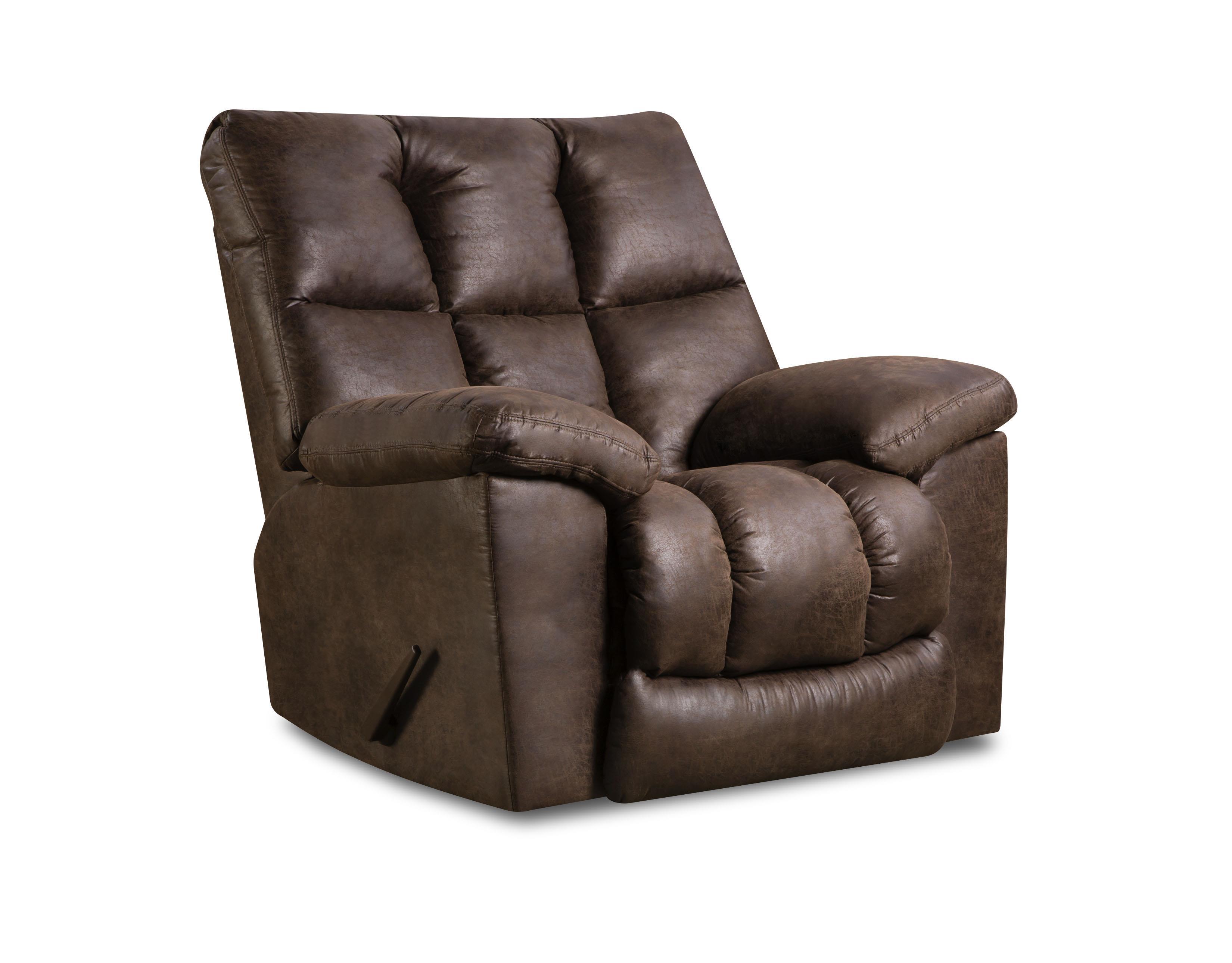 United Furniture Industries U694 Rocker Recliner - Item Number: U694-LattimerCocoa