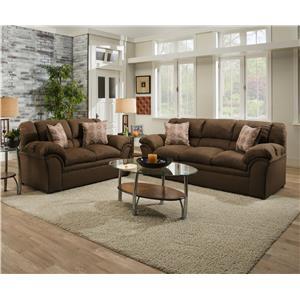 United Furniture Industries 1720 Love Seat Furniture
