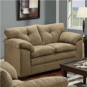 Simmons Upholstery 6565 Loveseat