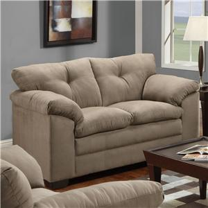 United Furniture Industries 6565 Loveseat