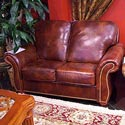 United Leather 16237 Leather Love Seat
