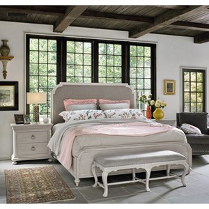 Universal Élan Transitional King Bedroom Group