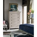 Universal Élan Traditional 5-Drawer Chest with Cedar Lined Drawer