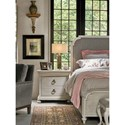 Morris Home Furnishings Élance Traditional Nightstand with Power Outlet