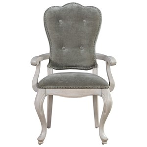 Morris Home Furnishings Élance Elance Traditional Upholstered Arm Chair