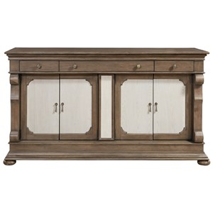 Morris Home Furnishings Élan Traditional Credenza