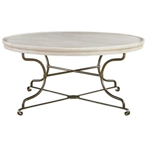 Morris Home Furnishings Élan Round Cocktail Table
