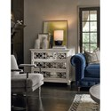Universal Élan Traditional Hall Chest with Mirrored Drawer Fronts