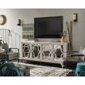 Morris Home Furnishings Élan Entertainment Console with Mirrored Front Panels