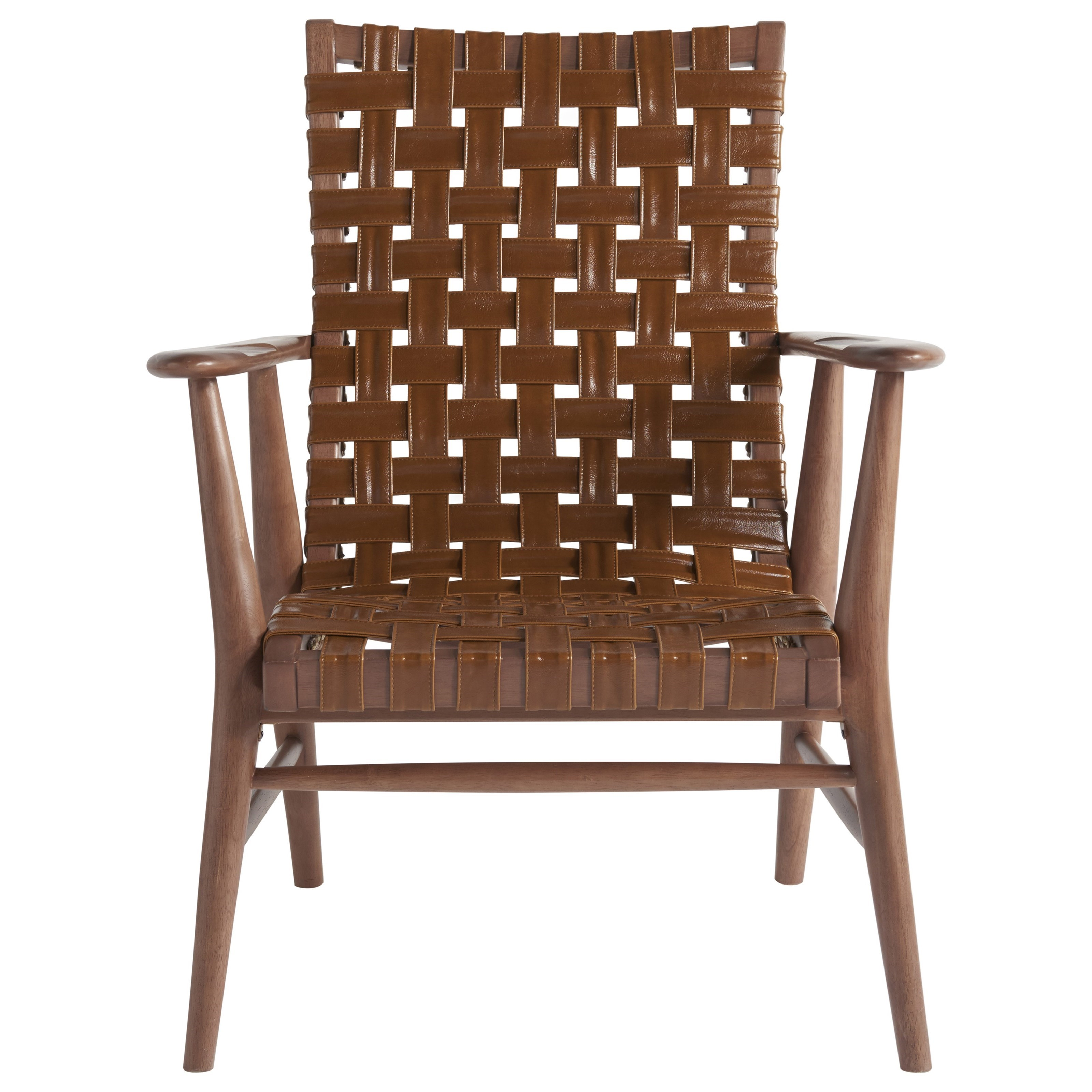 Universal Accent Chairs Patterson Accent Arm Chair With Basket Weave