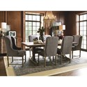 Universal Authenticity Formal Dining Room Group - Item Number: 572 Dining Room Group 2