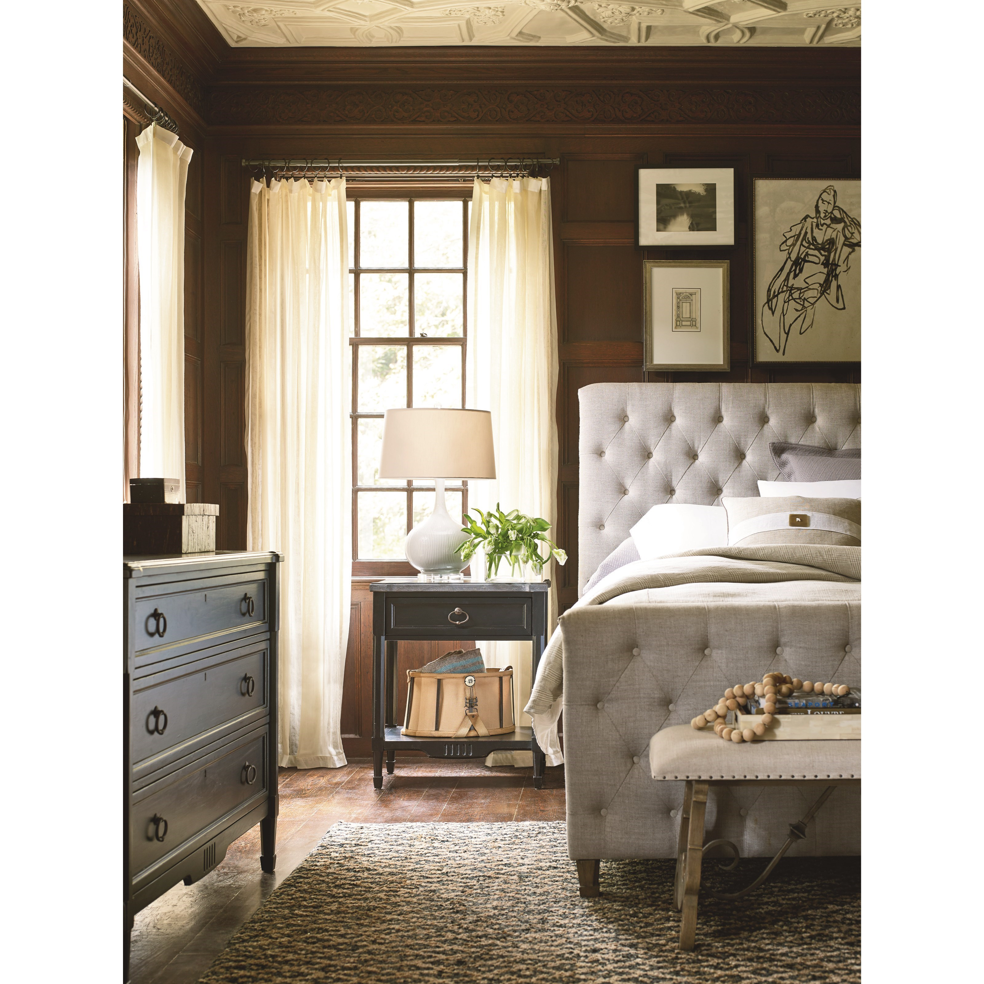 Universal Authenticity King Bedroom Group - Item Number: 572 K Bedroom Group 2