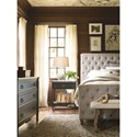 Universal Authenticity Queen Bedroom Group - Item Number: 572 Q Bedroom Group 2