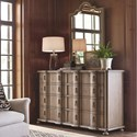 Universal Authenticity Dresser and Mirror Combo - Item Number: 572040+57202M