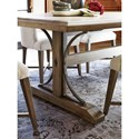 Universal Authenticity Oxford Street Table with Trestle Base