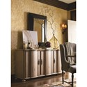 Universal Authenticity 3 Door Credenza with Platter Storage