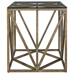 Universal Authenticity Truss Square End Table