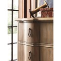 Universal Authenticity The Chelsea 3 Drawer Hall Chest with Turned Feet