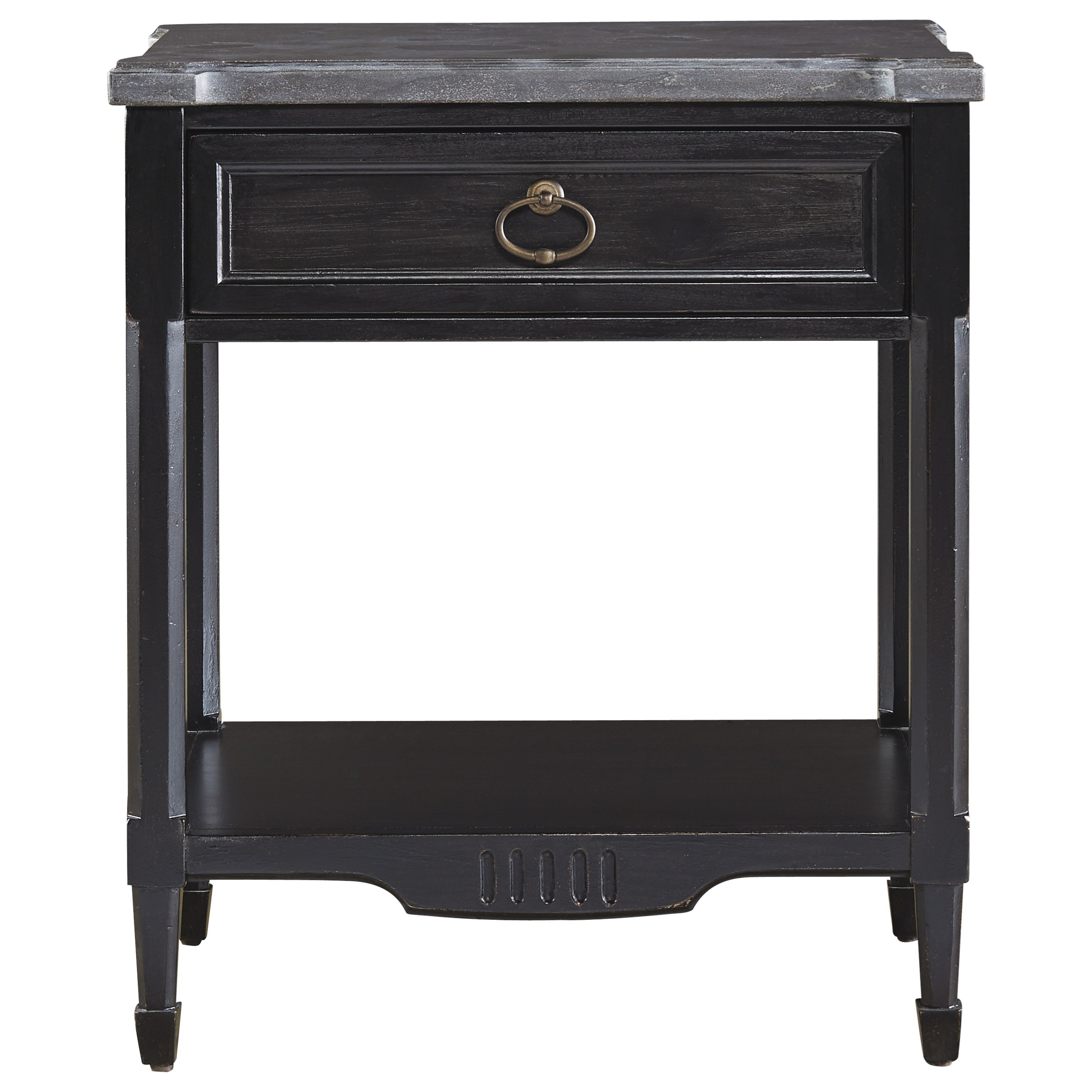 Wittman & Co. Gramercy Park Gramercy Park Bedside Table - Item Number: 572A355