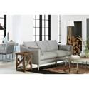 Universal Blair Contemporary Sofa with Arm Pillows