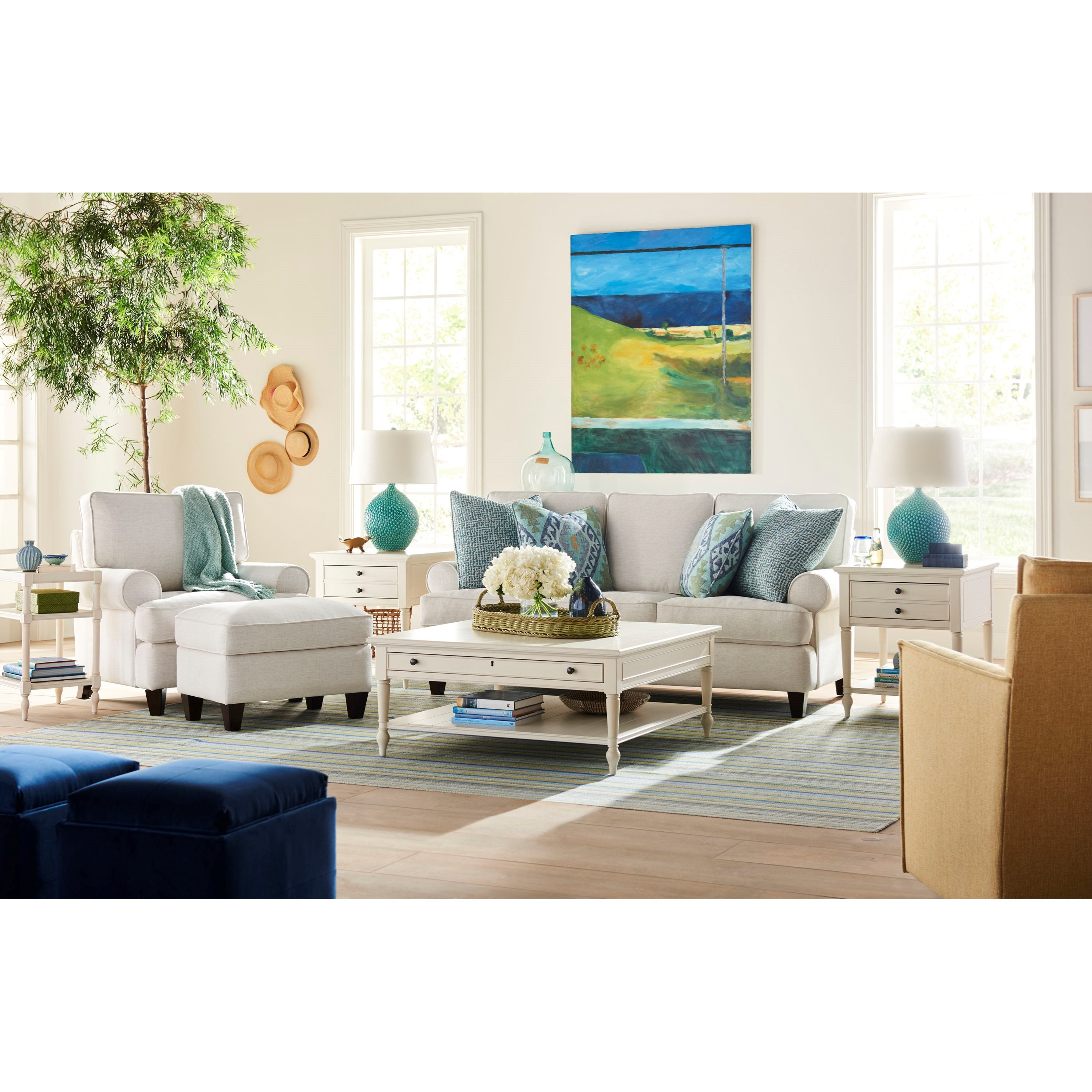 Blakely Living Room Group by Universal at Zak's Home