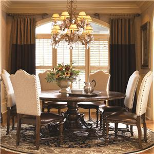 Great Rooms Bolero  7 Piece Dining Set