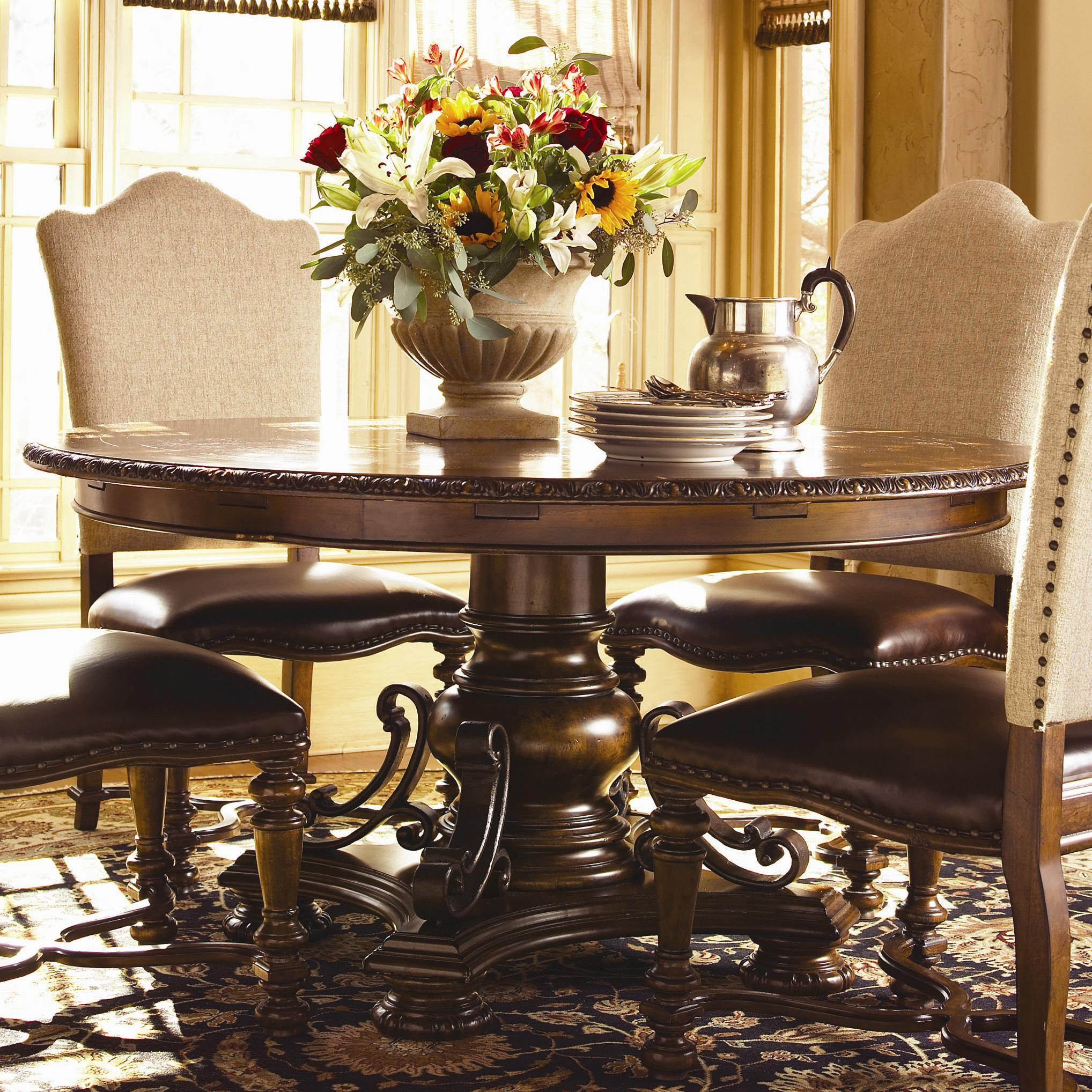 Bolero Seville Round Dining Table By Universal