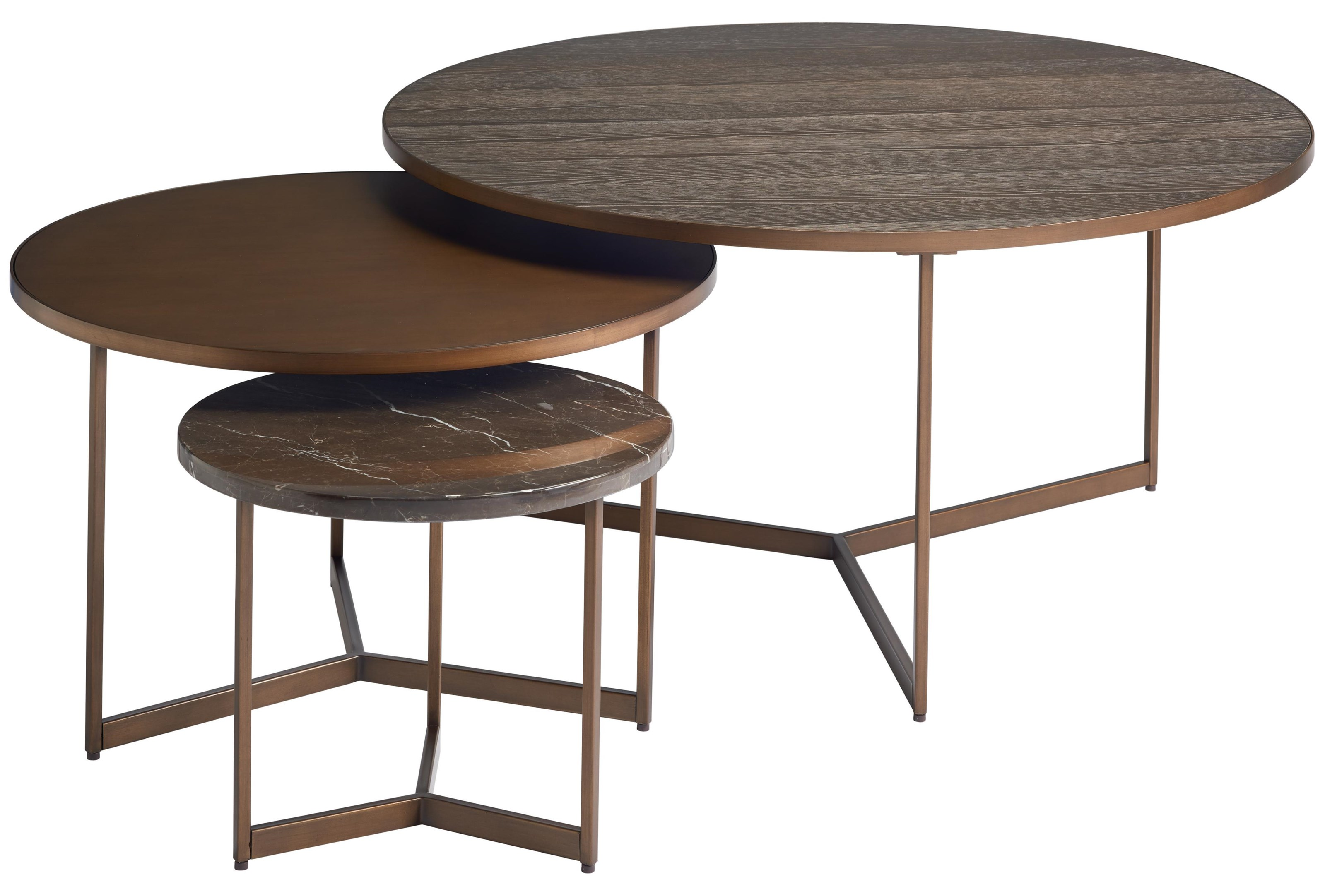 Cagney Bunching Tables Bunching Tables by Universal at Stoney Creek Furniture