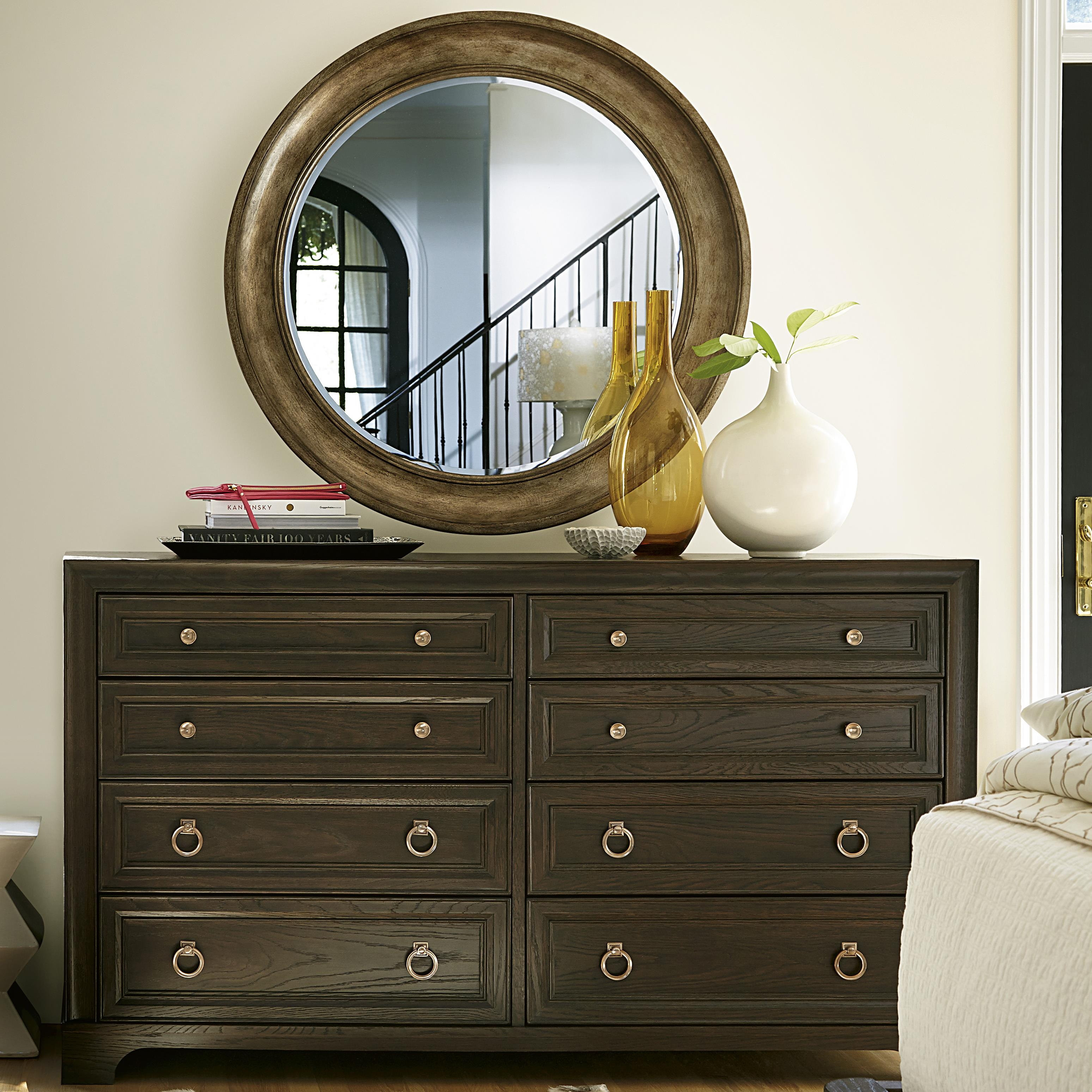 Universal California - Hollywood Hills Dresser and Mirror Set - Item Number: 475040+9M