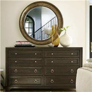 Universal California - Hollywood Hills Dresser and Mirror Set