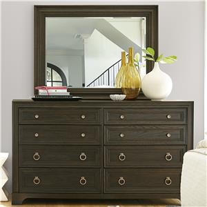 Morris Home Furnishings California - Hollywood Hills Dresser and Mirror Set
