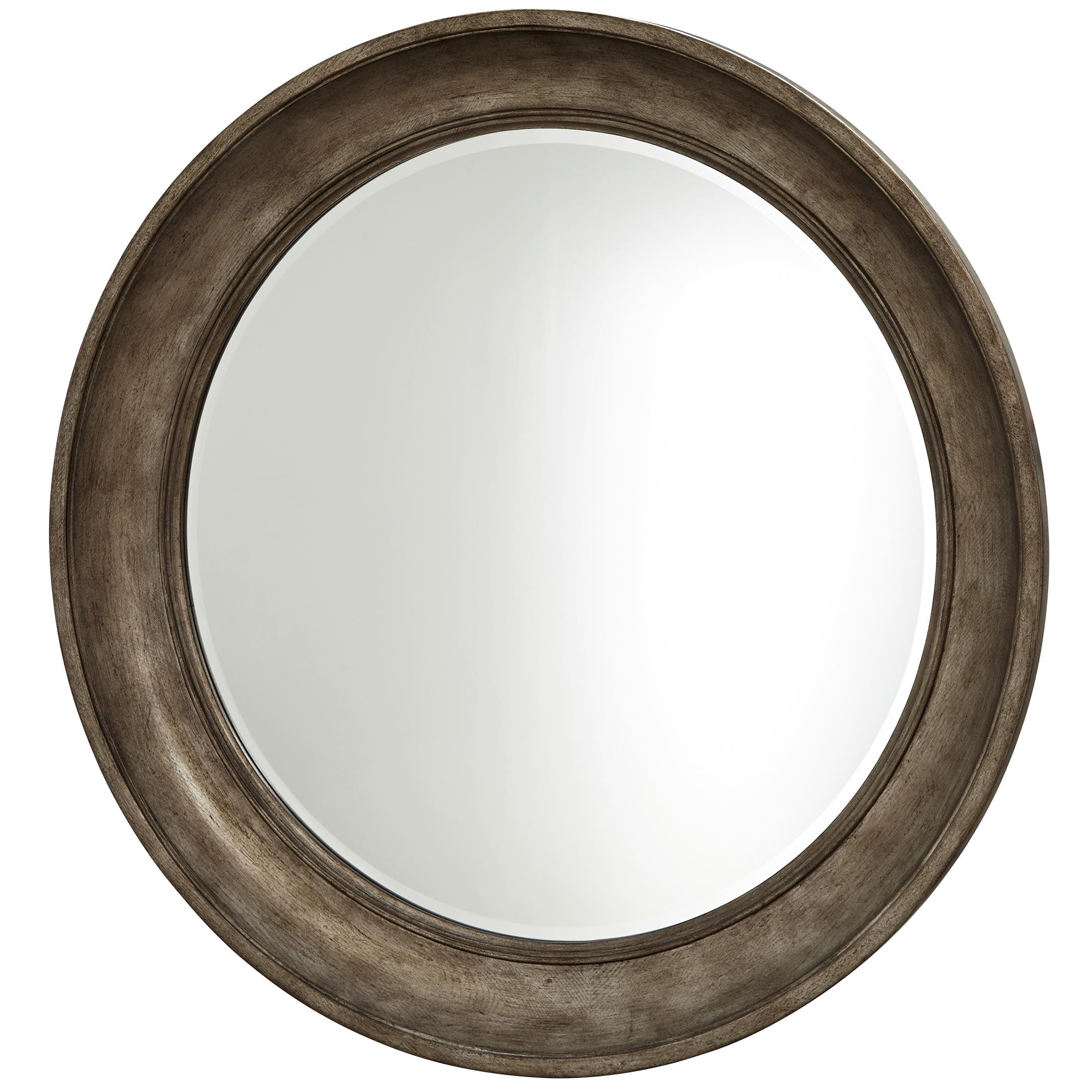 Universal California - Hollywood Hills Round Mirror - Item Number: 47509M