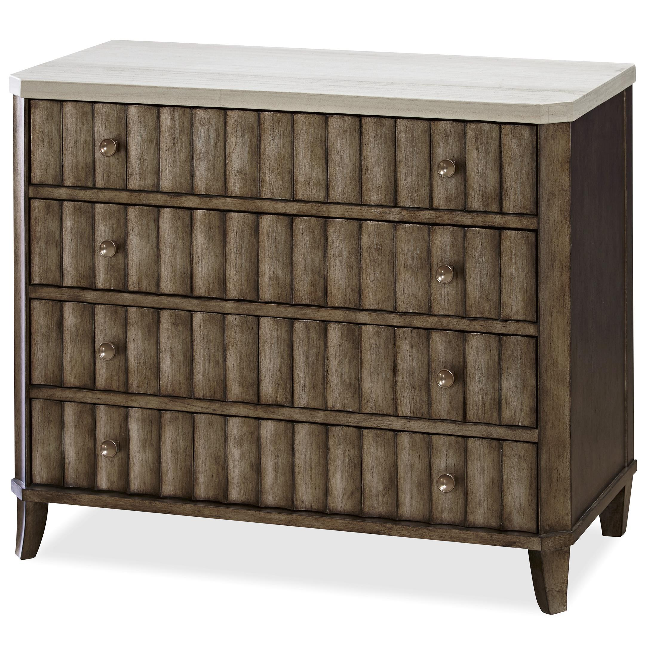 Universal California - Hollywood Hills Accent Chest with Stone Top - Item Number: 475360