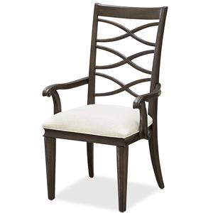 Morris Home Furnishings California - Hollywood Hills X-Back Arm Chair