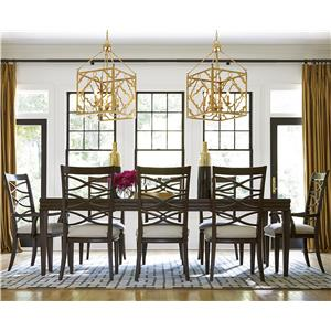 OCONNOR DESIGNS California - Hollywood Hills 9 Piece Dining Set