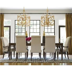 Universal California - Hollywood Hills 9 Piece Dining Set