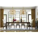 Universal California - Hollywood Hills Dining Table with Tapered Legs