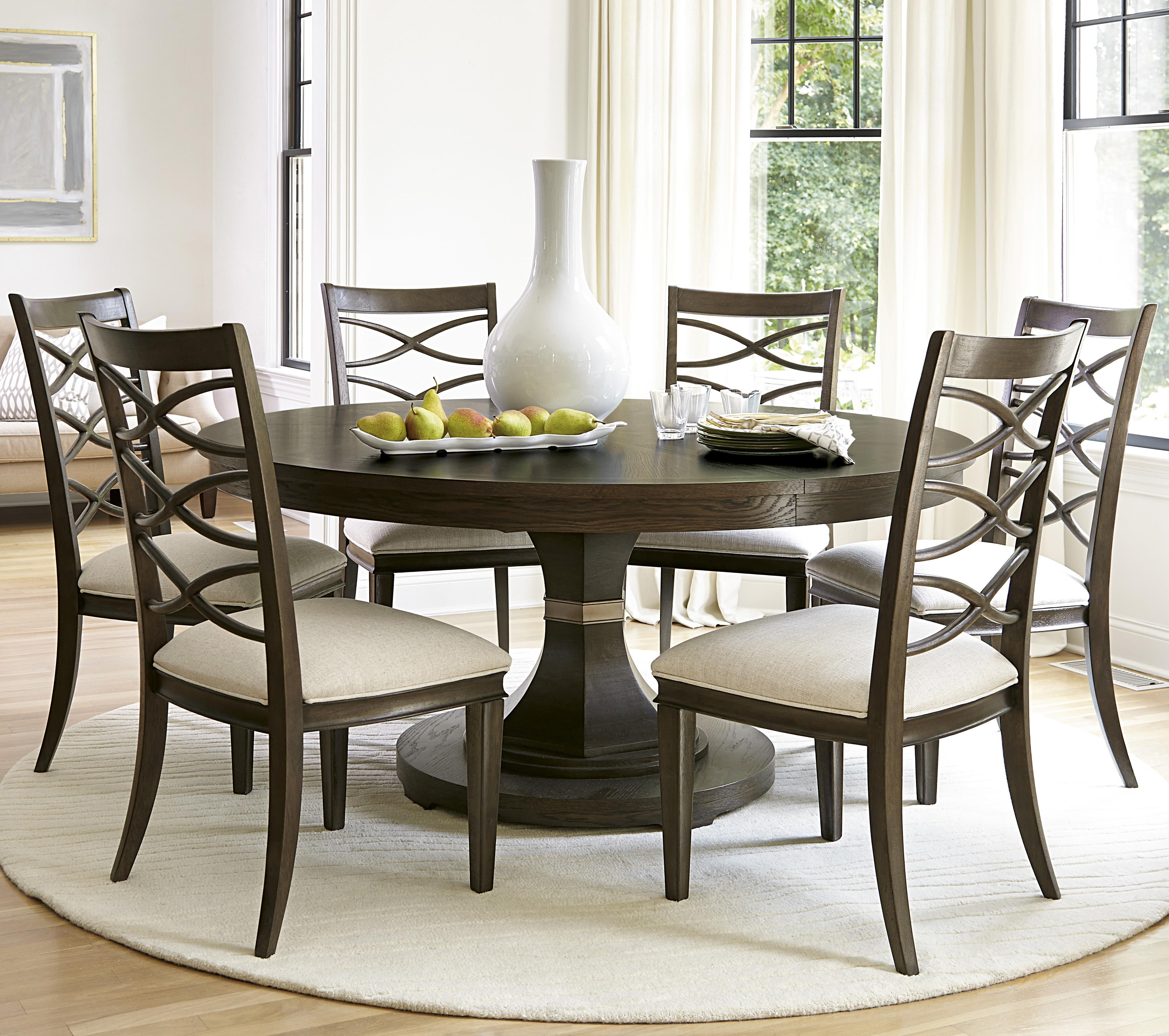 Universal California - Hollywood Hills 7 Piece Dining Set - Item Number: 475657+6x634-RTA