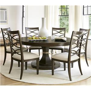 Morris Home Furnishings California - Hollywood Hills 7 Piece Dining Set