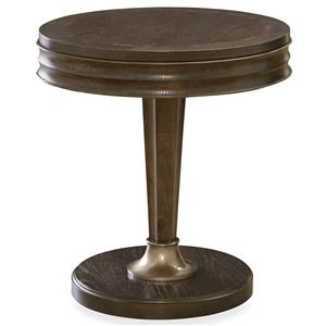 Universal California - Hollywood Hills Round End Table